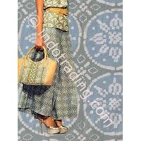 Rok Panjang Batik Musim Panas