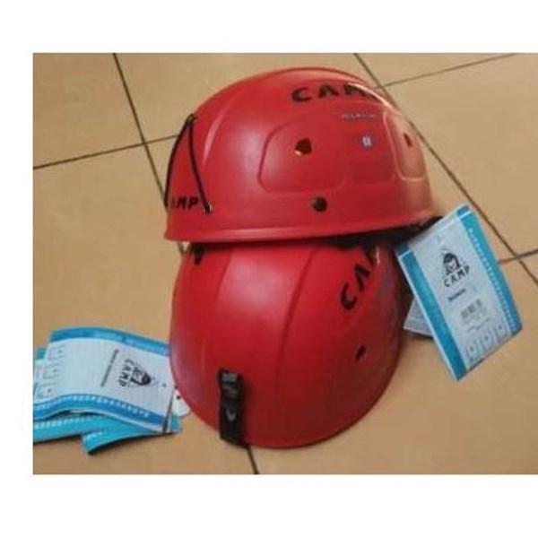Helm safety camp MERAH