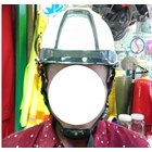Helm ABS white 2