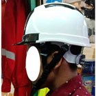 Helm ABS white 1
