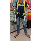 full Body Harness double hook  lanuard tanpa absorber 1