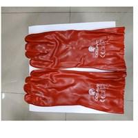 Srung Tangan PVC Merah