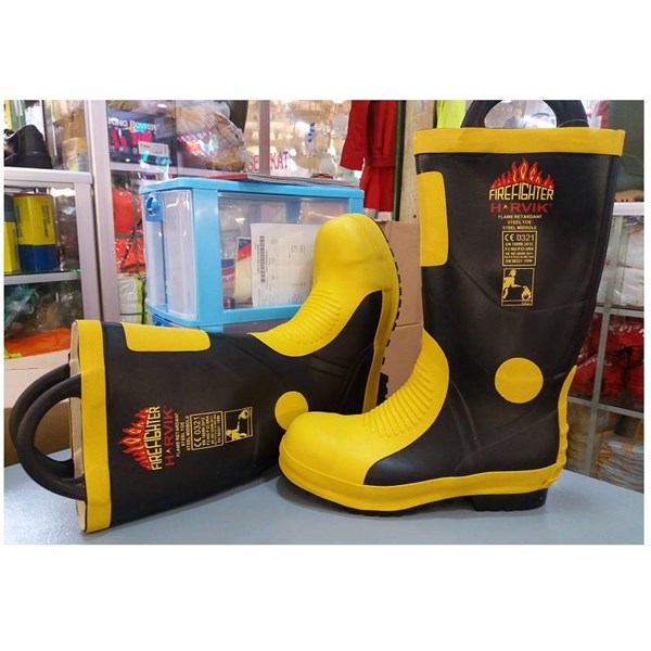 Sepatu Boot Pemadam Harvik