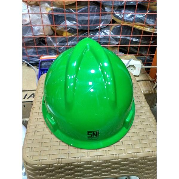 Helm Proyek MSA Hijau