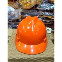 Helm Proyek MSA Orange