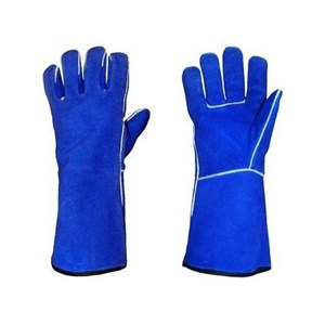 Blue Welding Glove