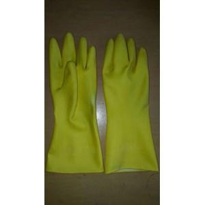 Sarung Tangan Karet 12 inch Warna Kuning