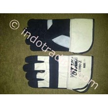 Combination Leather Gloves