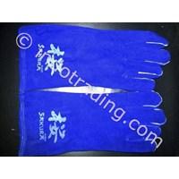 Sarung Tangan Las Biru Sakura