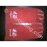 Jual Sarung Tangan Las Merah Sakura