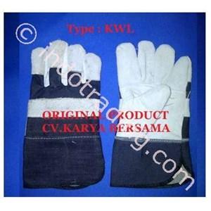Sarung Tangan Kulit Kombinasi Lokal MURAH KW-1