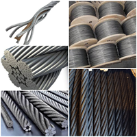 GALVANIZED STEEL WIRE ROPE FIBER CORE