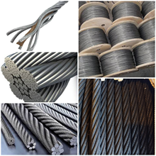 UNGALVANIZED WIRE ROPE IWRC STEEL CORE