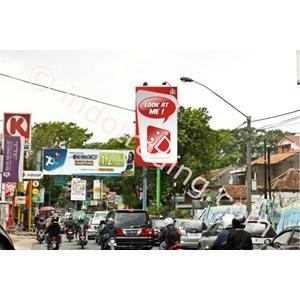 Sewa Billboard Reklame (Space Billboard) Jl. Cihampelas (Lamping- Sultan Plaza) Bandung Ukuran 4X8 M 1 Muka Vertikal By CV. Sms Advertising