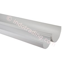 Gutters and Gutter pvc Pvc Oval Box