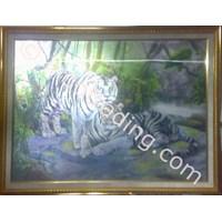 Jual Kaligrafi 3D Harimau