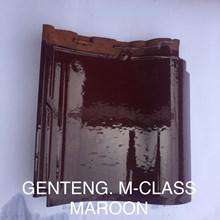 Genteng Keramik Mclass Maroon