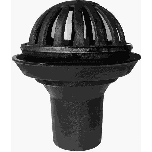 Roof drain cast iron