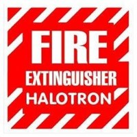 Dari Pemadam Api Gunnebo Halotron-l 1