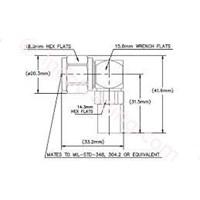 Distributor Konektor N Male Right RG8 CNT400 400PNR C 3