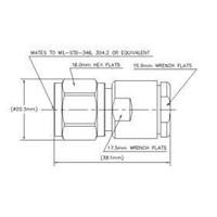 Jual Konektor N Male Stright RG8 CNT400 400APNM-C 2