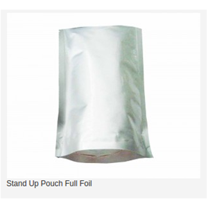 Stand Up Pouch Full Foil