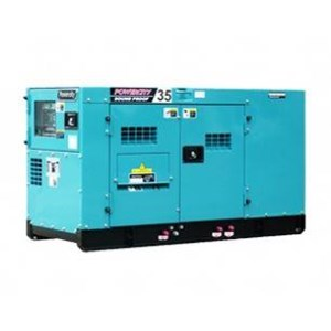 Diesel AC Generator Tipe 35 KVA Silent