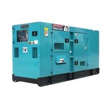 Diesel AC Generator Tipe 75 KVA Silent