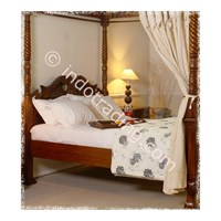 Sell Tempat Tidur Chippendale Canopi Tipe Y041
