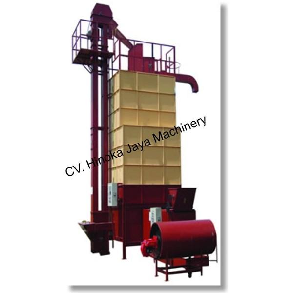 Mesin Dryer Vertikal Pengering Biji-Bijian