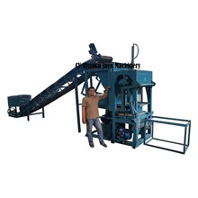 Mesin Press Hydraulic Paving Semi Manual