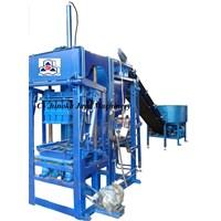 Mesin Press Hydroulic Paving Batako Semi