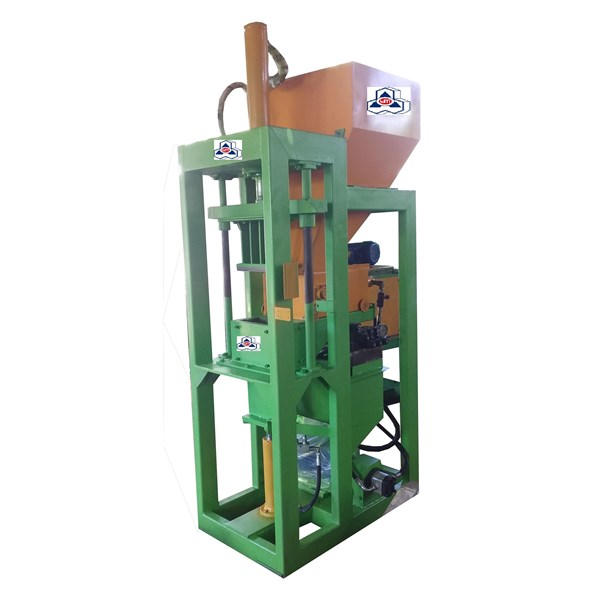 Mesin Bata Interlocking Bata Merah otomatis automatic