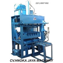 Mesin Press Hydraulic Bata Merah Manual