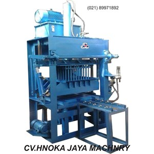 Mesin Press Hydraulic Bata Merah Manual