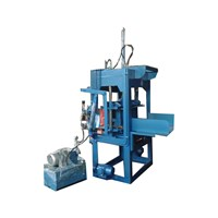 Distributor Mesin Press Hydraulic Paving Block Semi Manual 3
