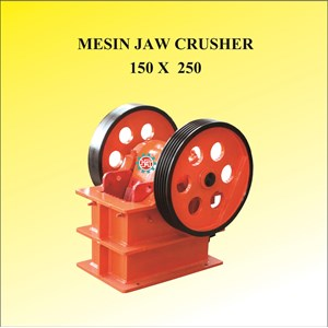Mesin Jaw Crusher 150 x 250