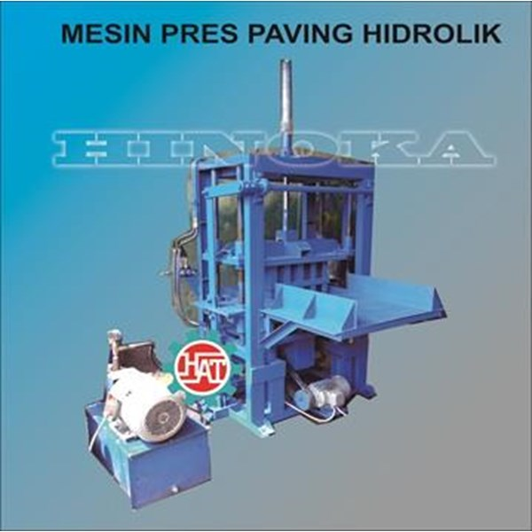 Mesin Press Paving block