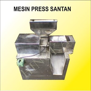 Mesin Press Santan