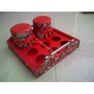 Stoples Kaca Batik