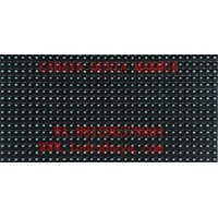 Display LED Running text Biru Qiangli