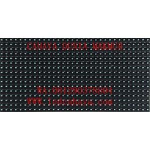 Display LED Running text Biru Qiangli