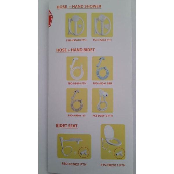 Alat alat kamar mandi (Bathware) merk Watertec