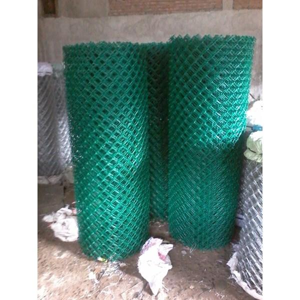 Kawat Jaring Harmonika PVC dan Galvanise