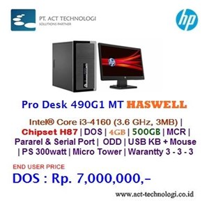 Hp Prodesk 490G1 Mt