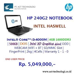 Hp Notebook 240G2