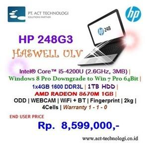 Hp Notebook 248G3 - I5 Windows