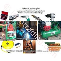 Paket Perkakas Bengkel Bahan Bakar Biogas Hibrid