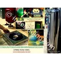 Instalasi Shelter Biogas Bd 3-3000L