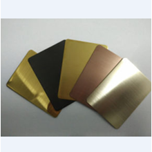 Plat Mirror Gold Stainless 201 & 304
